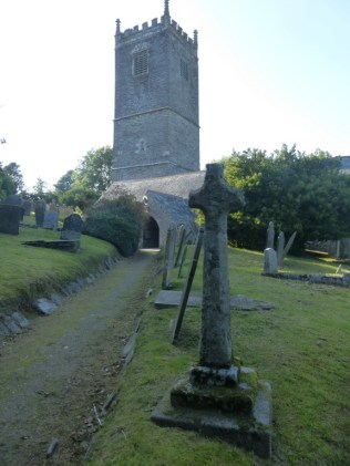 Lanteglos by Fowey: the Latin cross